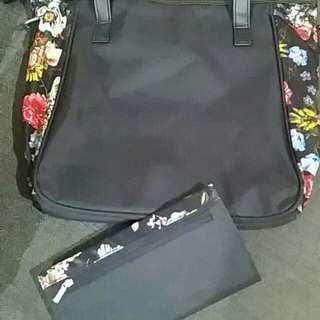 Avon adisson tote bag and wallet