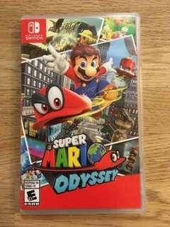 Super mario odyssey game for nintendo switch smo