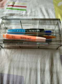 Transparent Stationery Holder/Pencil Case