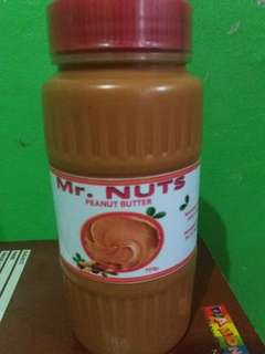 700g Mr. NUTS PEANUT BUTTER (open for wholesaler and reseller)