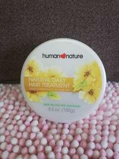 Human Nature Natural Daily Hair Treatment