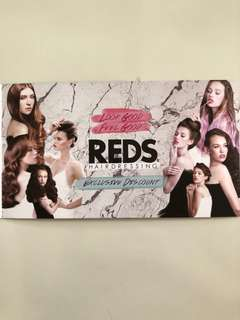 Reds hairdressing exclusive discount