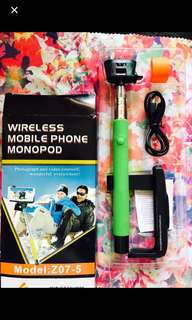 全新無綫自拍神棒神器Selfie Helper,wireless Mobile phone monopod