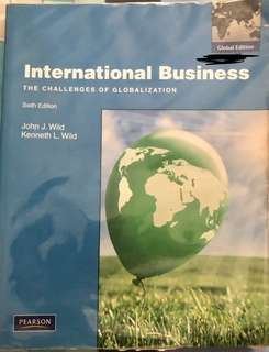 International Business Sixth Edition Textbook