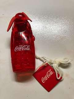 Coca Cola mini battery operated fan