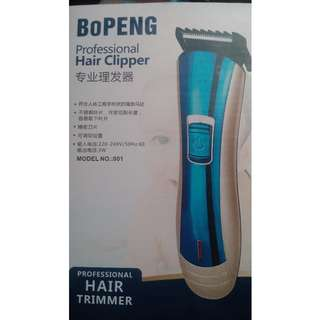Cordless Rechargable Hair Trimmer For Sale