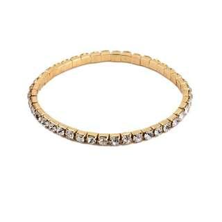 Gold + Diamond Bracelet