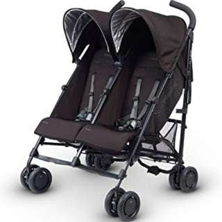[for rent] UPPAbaby G-Link Double Stroller