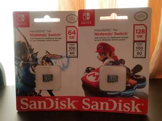Nintendo switch MicroSD card (128GB)
