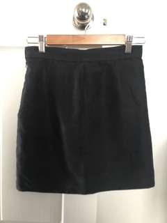 Bardot Black Skirt - Size 10