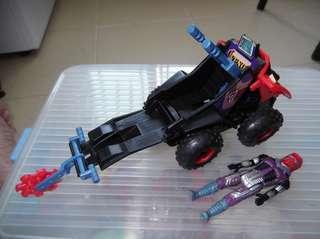 No nego. Vintage toy. M.A.S.K. 4 wheel ATV. IGUANA