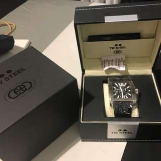 TW Steel CEO Goliath Leather Watch