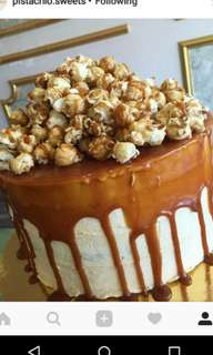 Overload Caramel Popcorn Cakes- MADE TO ORDER