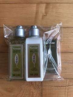 Brand New L'Occitane Verveine Set
