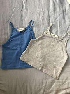 Glassons High Neck Crop Tops - Size S