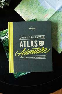 Lonely Planet's Atlas of Adventure  Brand New