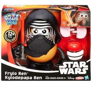 玩具總動員 蛋頭先生 星際大戰裝扮公仔 全新