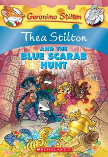 (BN) Thea Stilton and the Blue Scarab Hunt #11