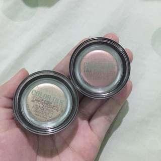 Maybelline Color Ink Cream Eyeshadow Pots