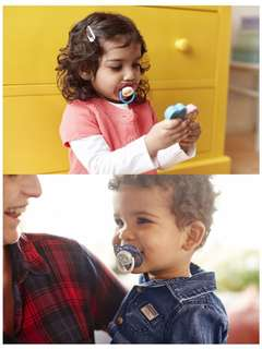Brand New Avent Pacifier for 18m+ (Blue or Pink set)