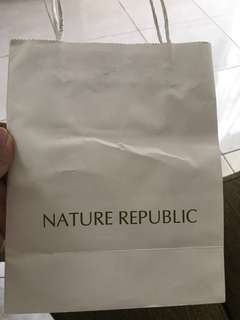 Paper Bag Nature Republic