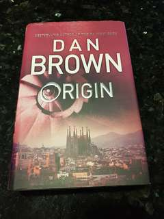 Dan Brown origin hard cover
