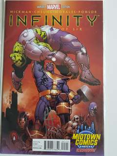 Infinity #1 Midtown variant cover