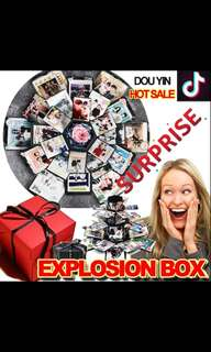 Special photo album explosion box