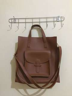 Sonia Brown bag by PTR Project
