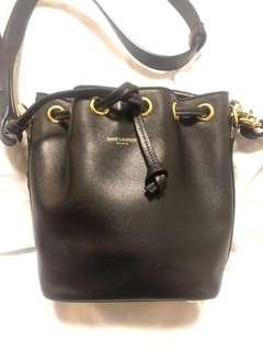 Used Ysl mini bucket bag