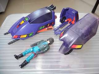 No nego. Vintage toy. M.A.S.K. Motorcycle. PIRANHA