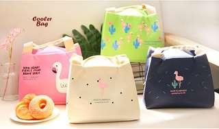 Lunch / cooler bag ( dilengkapi 2 pcs jelly ice cooler)