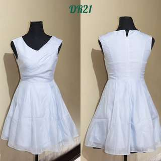 BABY BLUE DRESS  ( PERFECT FOR SPECIAL OCCASSION)