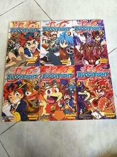 BUDDY FIGHT COMIC BOOKS SALE !!