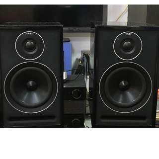Acoustic Energy 301 bookshelf speakers - Black Color