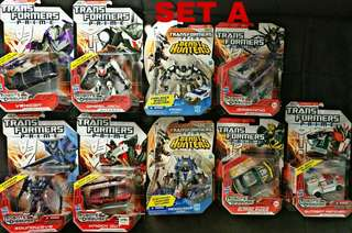 Transformers Prime Collection