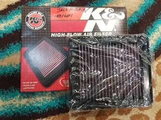 K&N Filter Jazz Hybrid Insight