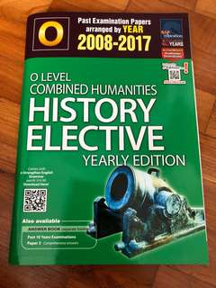 O level Combined History TYS (SAP)