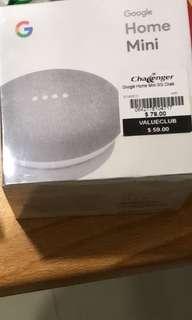 Google mini white/charcoal