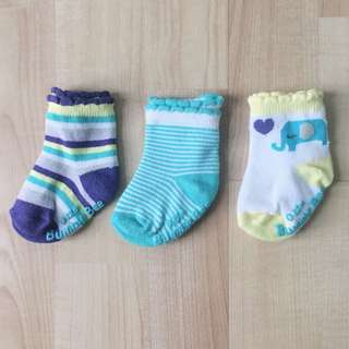 [3 for RM50] Bumble Bee Baby Socks