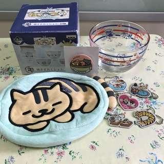 日本 收集貓咪 cat 貓 福袋