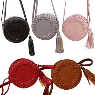 Vintage round bag