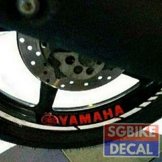 2b Yamaha Rim Decal