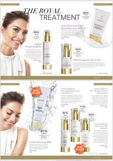 Jafra serum skin care