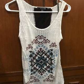 ❗️ REPRICED! Forever 21 aztec print tank top