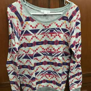 ❗️ REPRICED! Forever 21 aztec print light sweater