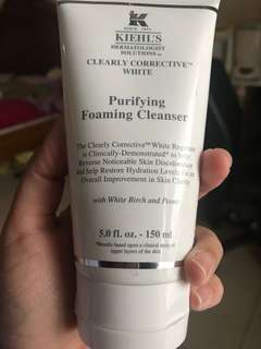 Kiehls corrective purifying cleanser