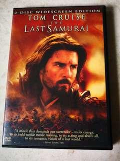 DVD video Tom Cruise The Last Samurai