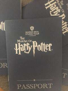 The Making Of Harry Potter Passport