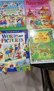 Children learning books(4books)